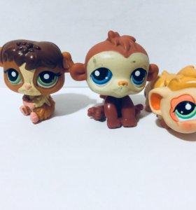 Lps хомячки,обезьянки