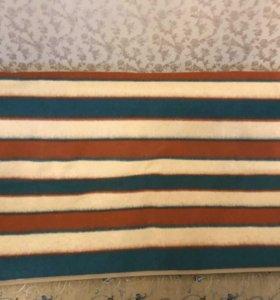 Одеяло двуспальное полушерстяное