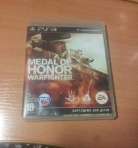 Игра Medal of honor warfighter (Play Station 3)