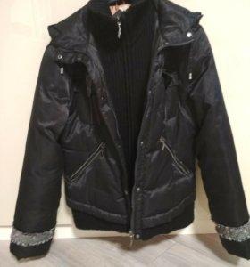 Куртка женская б/у в хорошем состоянии.