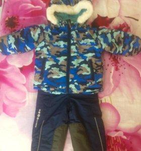 Куртка+штаны зимние  barkito 86 р
