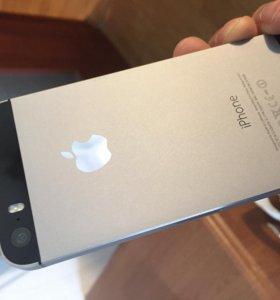 Айфон 5S объем 16 гб с Тачем Space Gray
