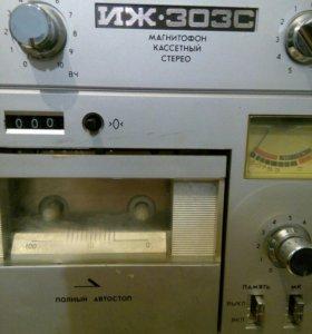 Магнитофон ИЖ-303 С,-1991год