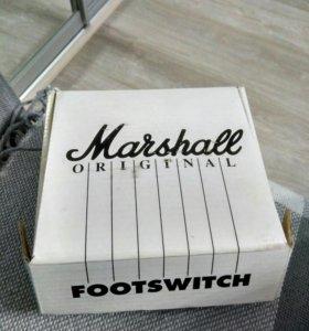 Педаль Marshall footswitch 1 way led