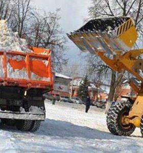 Уборка снега!