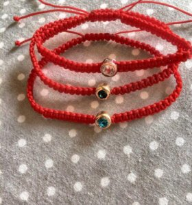 Плетёные браслеты