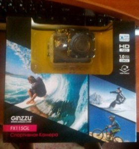 Экшн-камера Ginzzu fx115gl