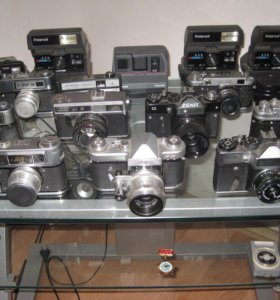 Коллекция советских фотоаппаратов