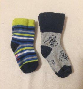 Носки за 2 пары вместе 25 рублей детские