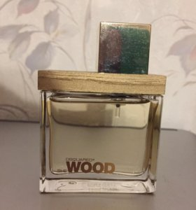 Туалетная вода Wood she Dsquared Golden Licht Wood