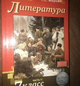 Литература 7 класс Меркин