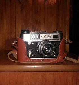 Фотоаппарат ФЕД5 1986 года выпуска чехол кожаный