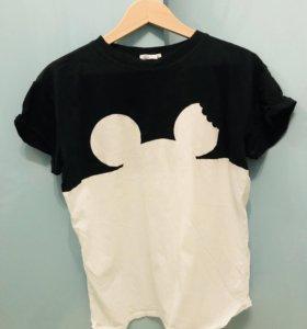 Женская футболка микимаус