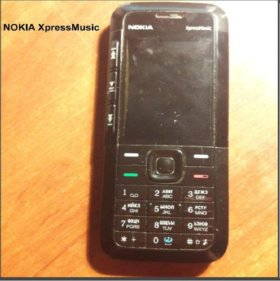 Nokia 5310 XpressMusic 4.5 не рабочий