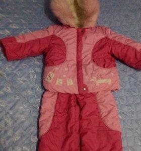 Детская куртка с комбинизоном