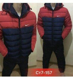 Костюм зимний мужской Nike Баталы