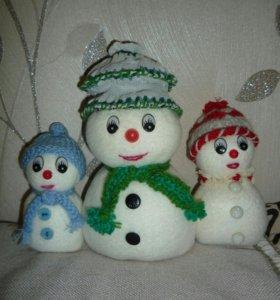 Снеговики на заказ