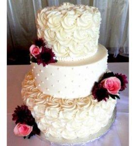 Свадебные тортики