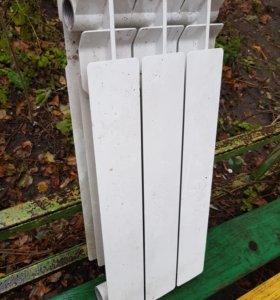 Биметаллический радиатор 3 секции