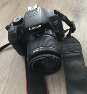 Canon 650d 18-55 kit полный комплект