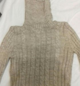 Шерстяная водолазка/свитер