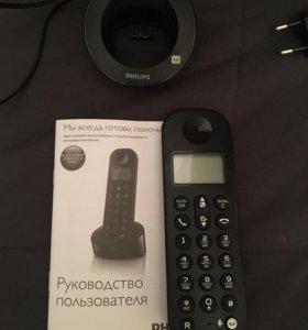 Домашний dect телефон Philips