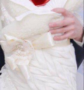 Одеяло на овчине на выписку