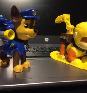 Щенячий патруль, щенки с рюкзаками- трансформерами