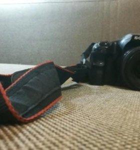 фотоаппарат Sony a65 и объектив sony 35 1.8