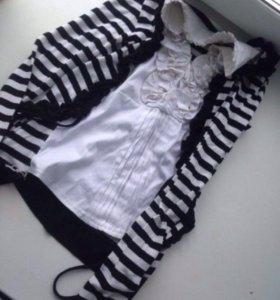 Блузка с кофтой