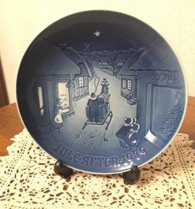 Декоративная тарелка. Дания. 1979 г