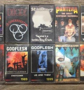 Аудиокассеты (Rock, Doom, Trash, Industrial)