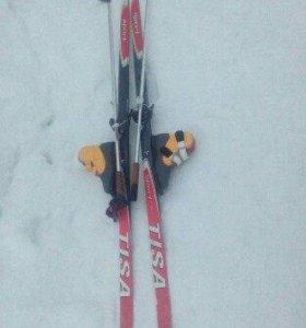 Продам Лыжи с Ботинками