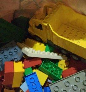 LEGO Duplo Почти целая сумка!!!