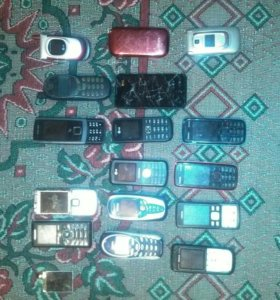 Продам много старых телефонов