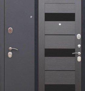 Дверь Троя Муар Темный Кипарис
