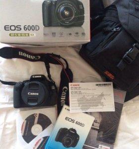 Зеркальная камера canon eos 600d фотоаппарат