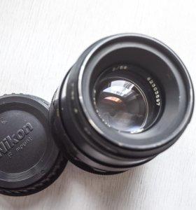 Гелиос-44-2 №82303597 для Nikon бесконечность!