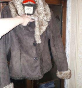 Теплая куртка L