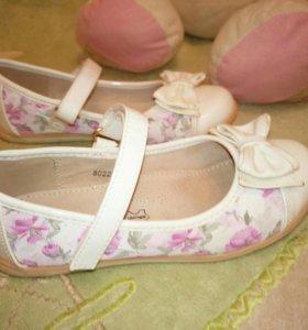Туфли на девочку 28 размер
