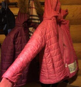 Куртка Moncler демисезон.