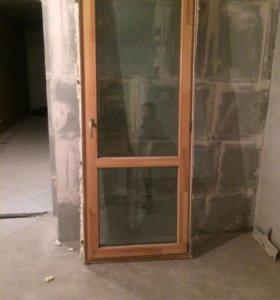 Дверь балкон лоджия