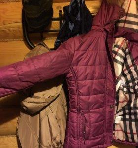 Куртка демисезон с капюшном