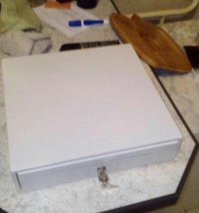Ящик для денег кассовый