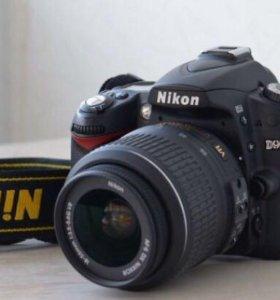 Зеркальный фотоаппарат nikon D90 KIT 18-55VR