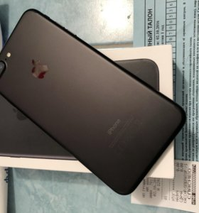 Как новый Apple iPhone 7 Plus black 32gb с чеком