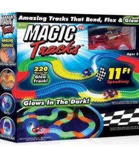 ГОНОЧНЫЙ ТРЕК MAGIC TRACKS 220 деталей.