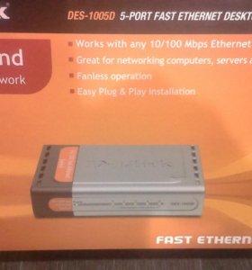 D-Link Switch des - 1005d