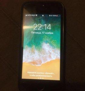 Меняю айфон 5s 16г на равноценный телефон