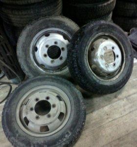 колеса газель R16 шипы